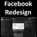 Facebook redesignen är djärv och enkel att använda