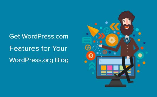 🥇 ▷ Hur man får WordPress.com-resurser på självvärda WordPress-bloggar ✓