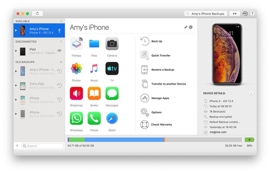 10 Melhores Gestores iOS / iPhone para experimentar em 2019 1