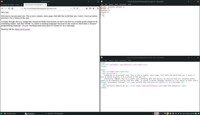 Faça um site primeiro CSS