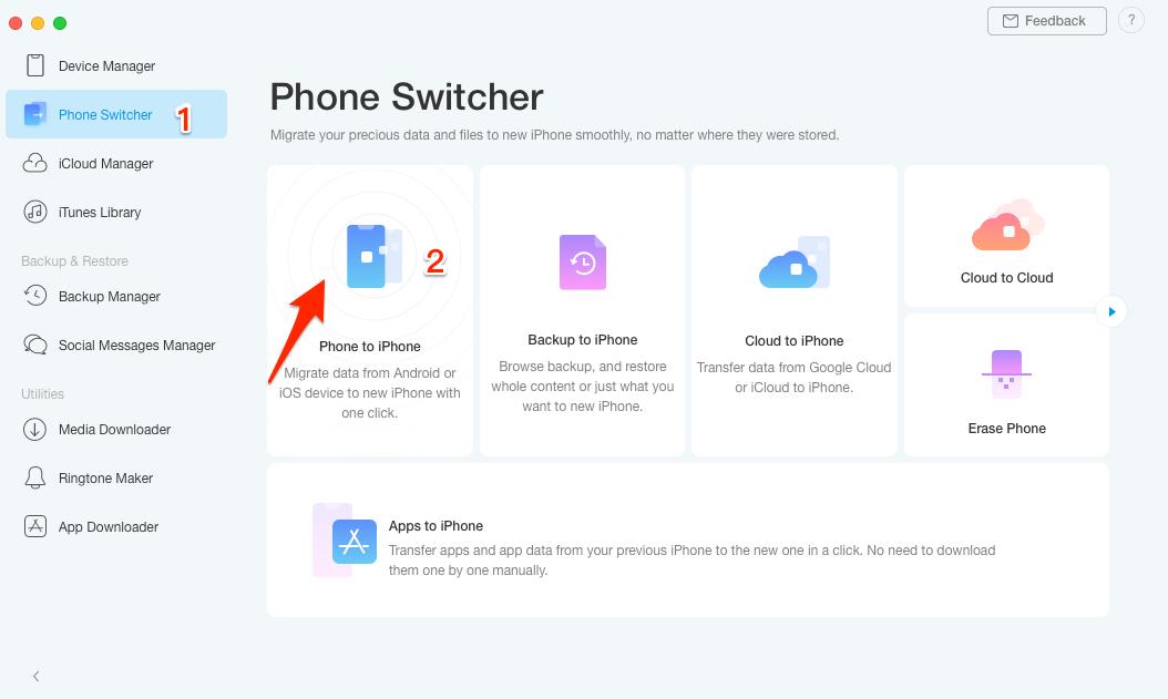 AnyTrans 8 Review - O melhor gerenciador de iPhone para experimentar ... 2
