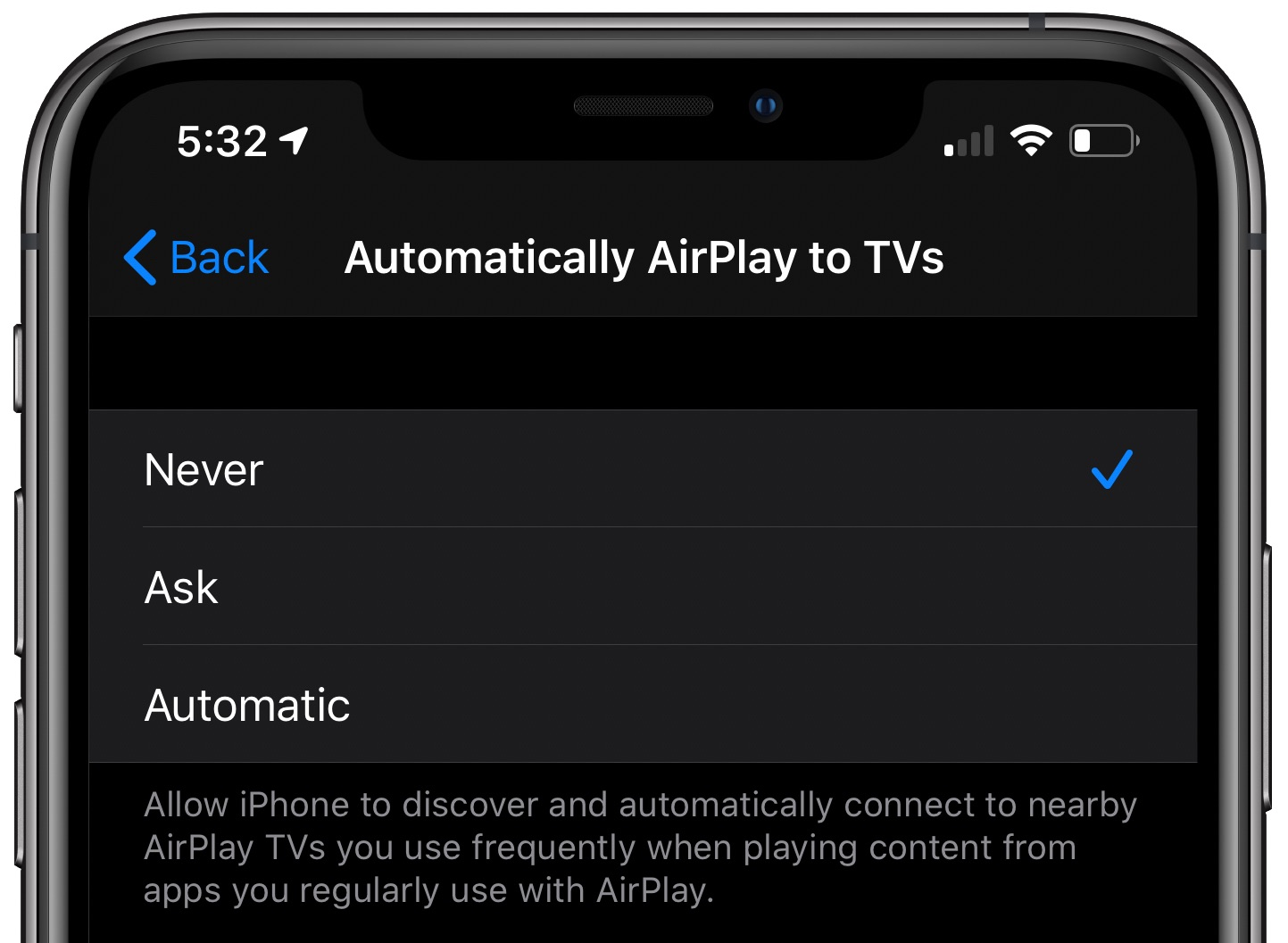 TVs AirPlay