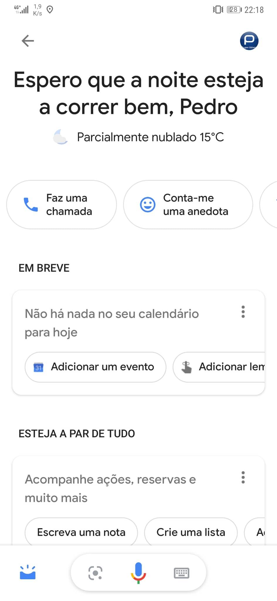 Finalmente! Google Assistant já está disponível em português de Portugal 2