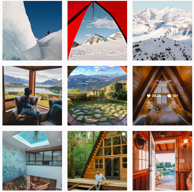 UGC Airbnb Feed