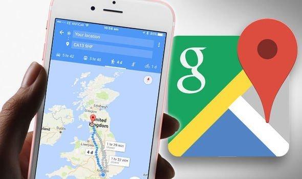 O Google Maps pronunciará os nomes das localidades no idioma original 1