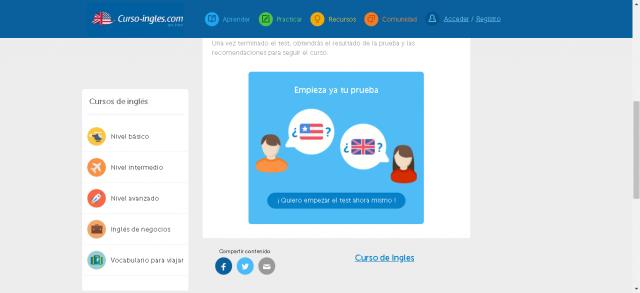 Aprenda ou melhore seu inglês com o método Course-English gratuito 1