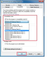 Agora selecioneWindows-Versão