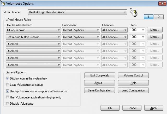 Controlar o volume de Windows da roda do mouse com este aplicativo 2