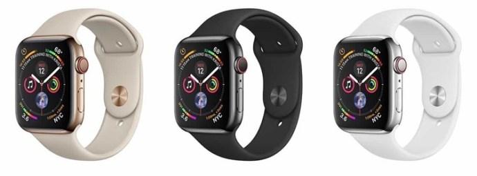 Agora, o que é o mais novo Apple Watch Fora