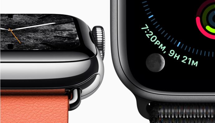 Qual é o mais novo Apple Watch Fora