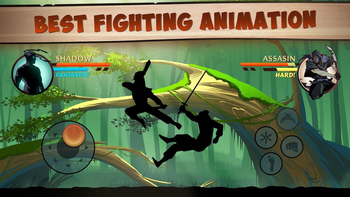 Shadow Fight 2 - Melhores jogos de luta no Android