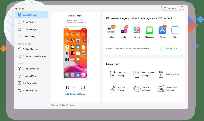 AnyTrans 8 Review - O melhor gerenciador de iPhone para experimentar ... 1