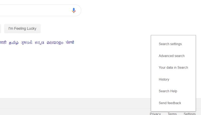 Configurações de pesquisa do Google (1)