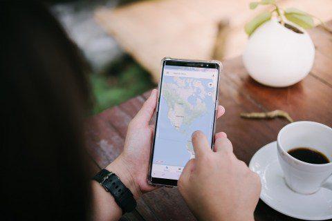 Como ver a elevação em um mapa do Google