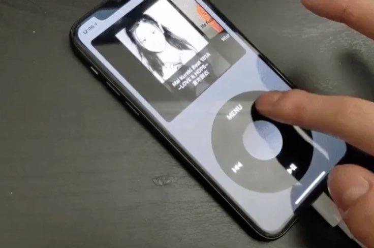 Este aplicativo transforma seu iPhone em um iPod classic com click wheel e Cover Flow 1
