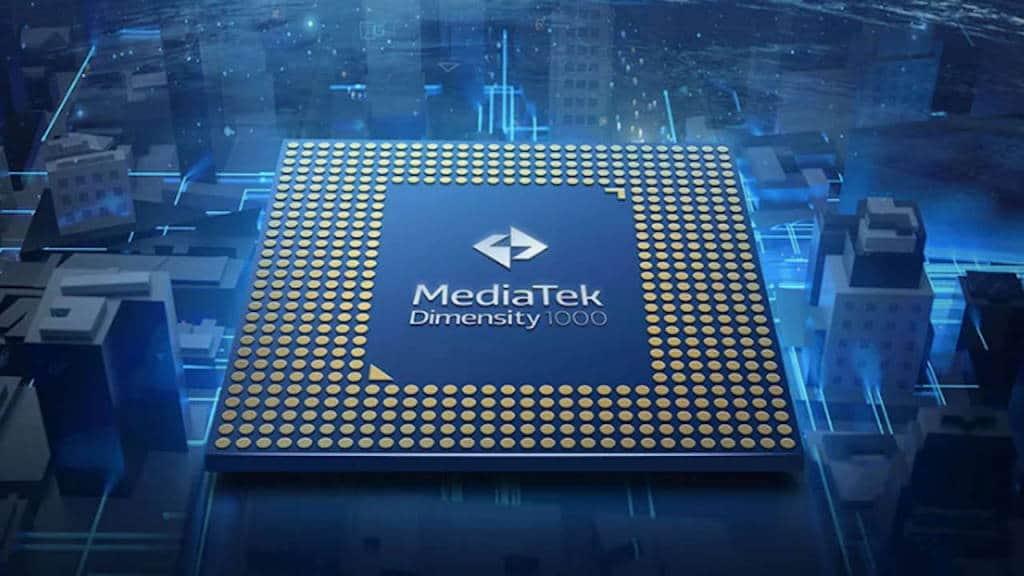 MediaTek Dimensity 1000 SoC CPU concorrência