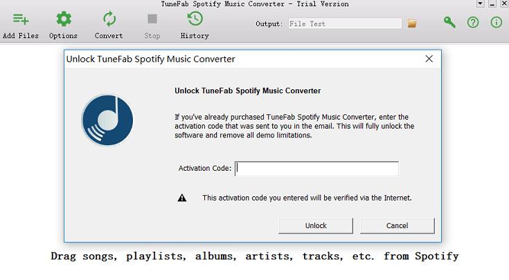 TuneFab Spotify Music Converter - Melhor Spotify Music Downloader 1