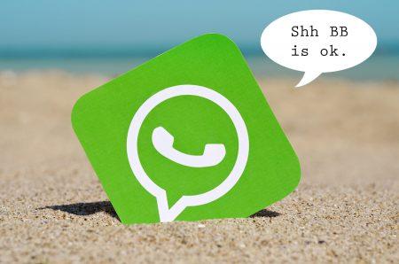whatsapp shhhh