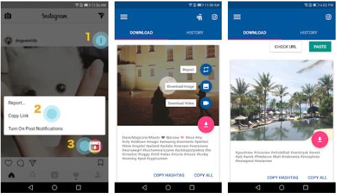 Video Downloader para Instagram Repost App
