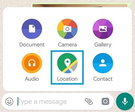 WhatsApp Como rastrear a localização