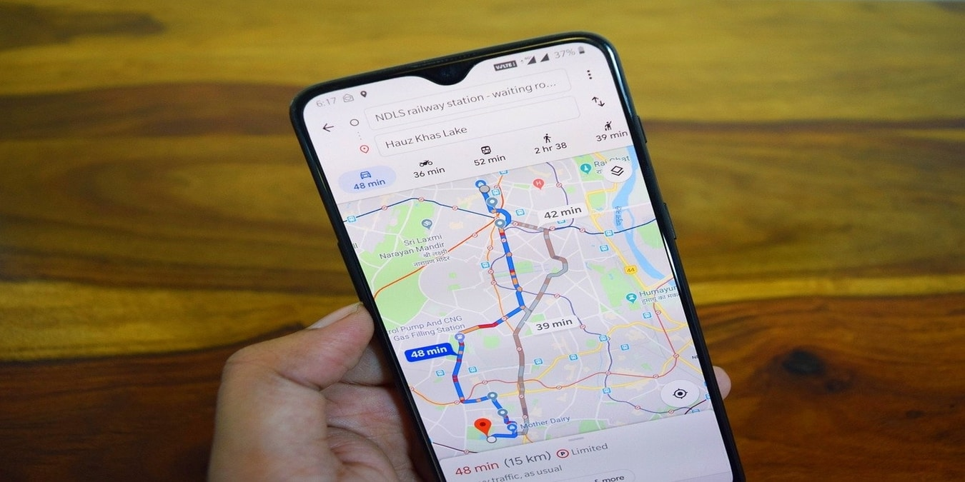 Como alterar sua rota no Google Maps