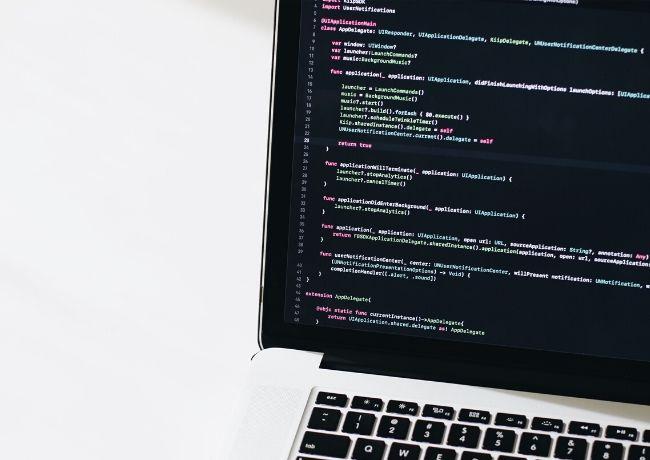 Linguagens de programação para desenvolvedores Laptop Code Haxe