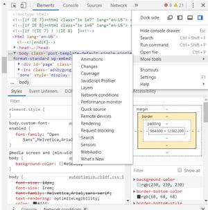 Alterar a sequência do agente do usuário no Google Chrome