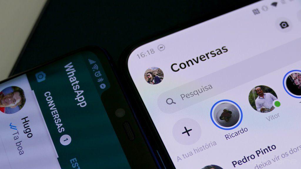 WhatsApp chamadas eliminar recentes