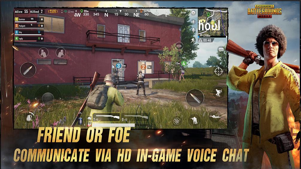 PUBG MOBILE - Melhor jogo multiplayer para Android