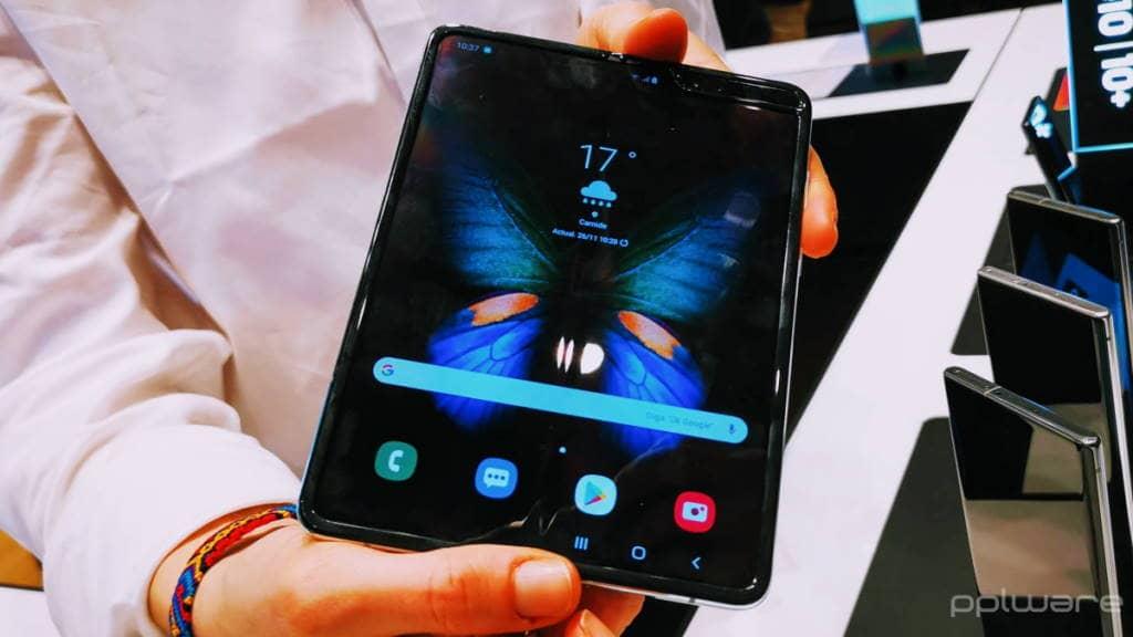 Samsung Galaxy Fold preço smartphones