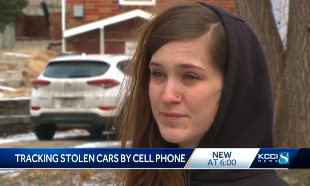 Des Moines Find My iPhone Stolen Car