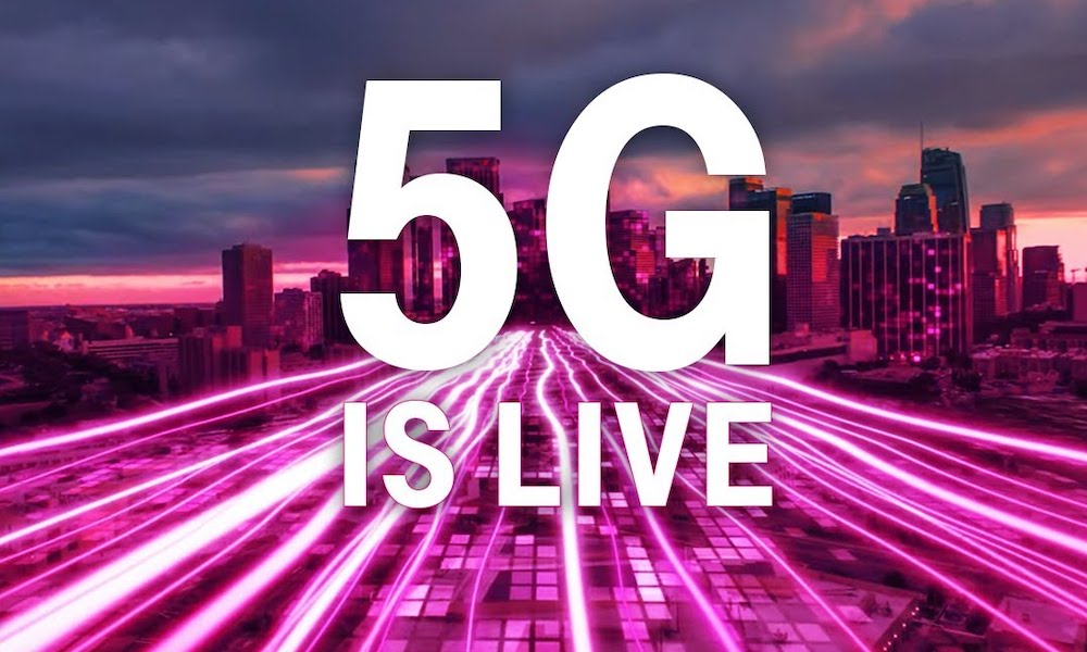 T-Mobile 5G Is Now Live