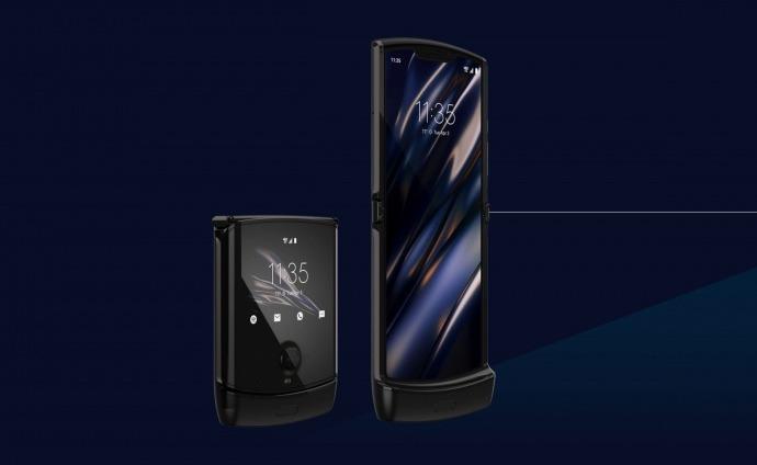 Pronto para dobrar Smartphone Motorola Razr