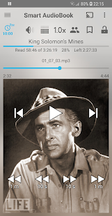 Captura de tela do Smart AudioBook Player