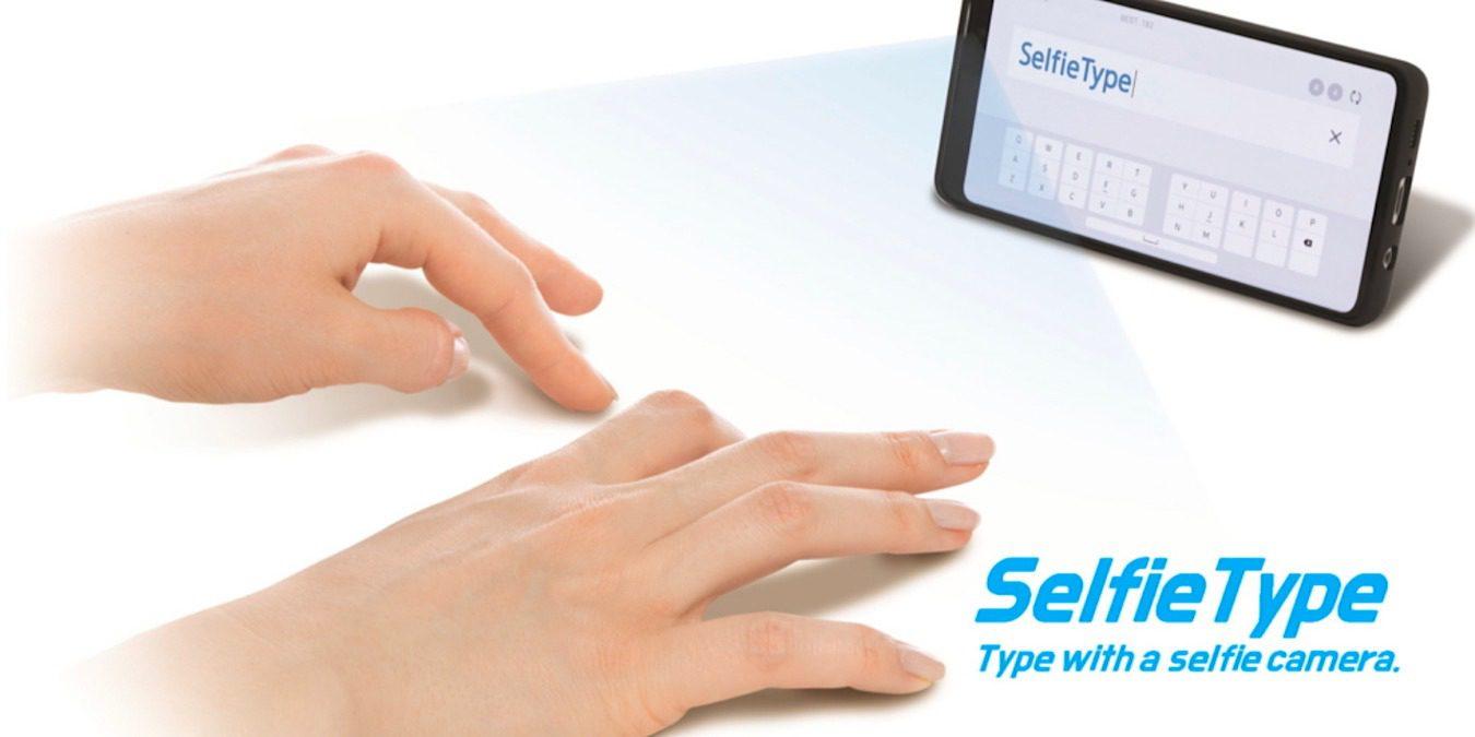 Samsung Electronics estreia teclado virtual SelfieType na CES