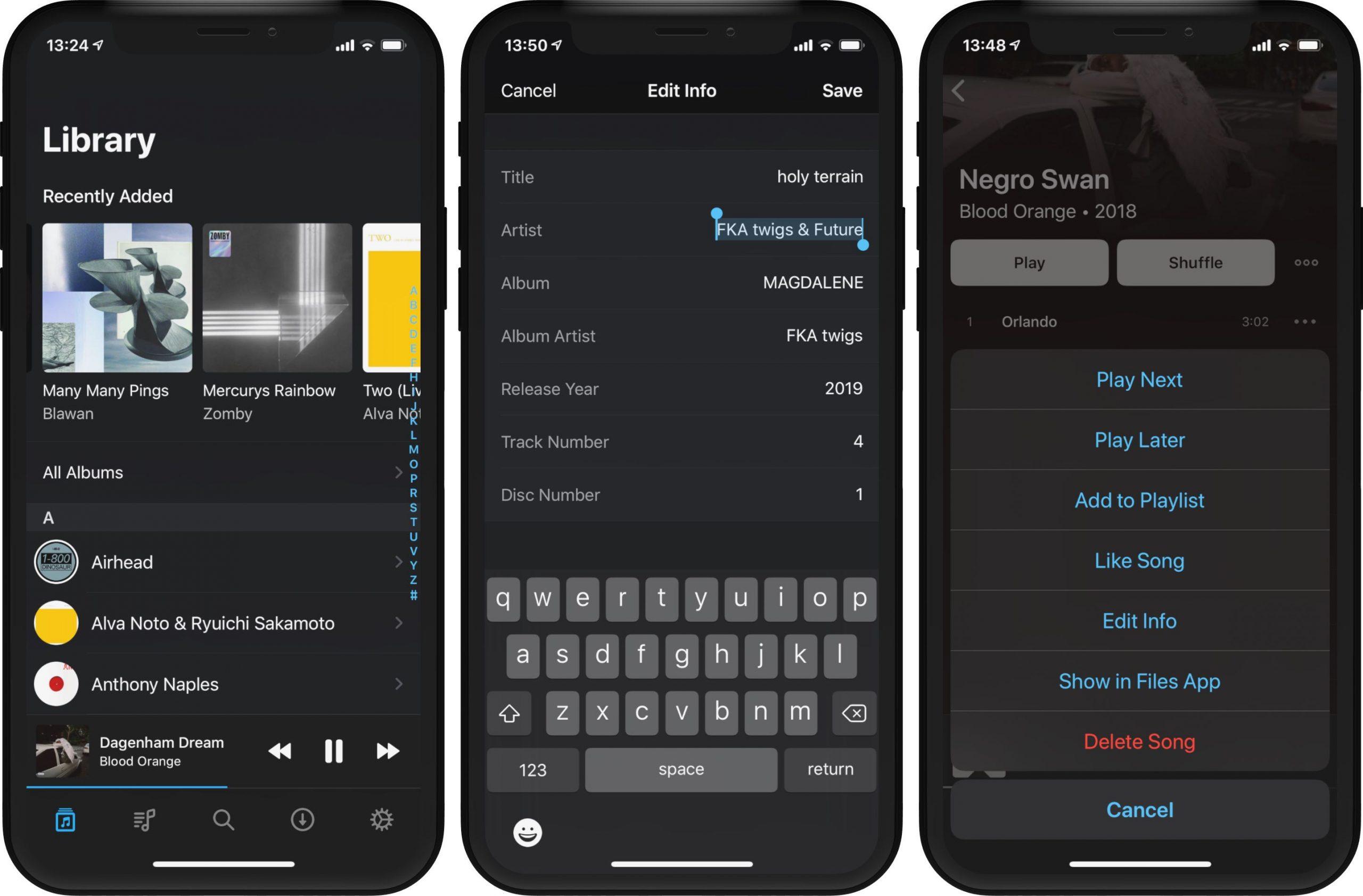 Doppler 2 para iPhone permite importar, gerenciar e editar suas músicas com facilidade 4