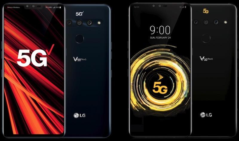 Melhores 5g Celulares Lg V50 Thinq 5g