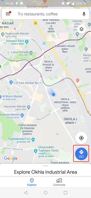 Os mapas do Google prevêem tráfego