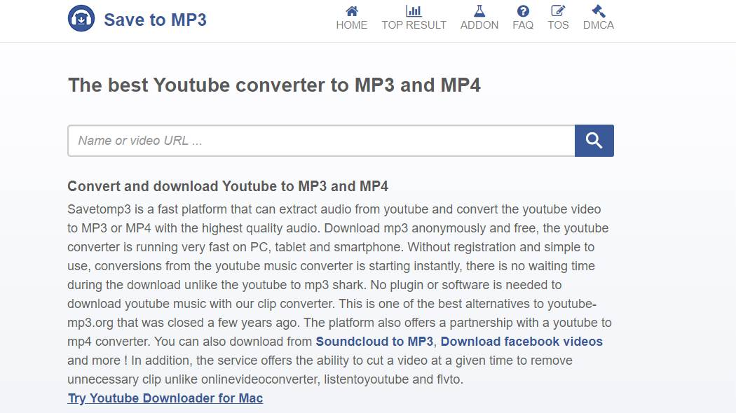 salve youtube para mp3