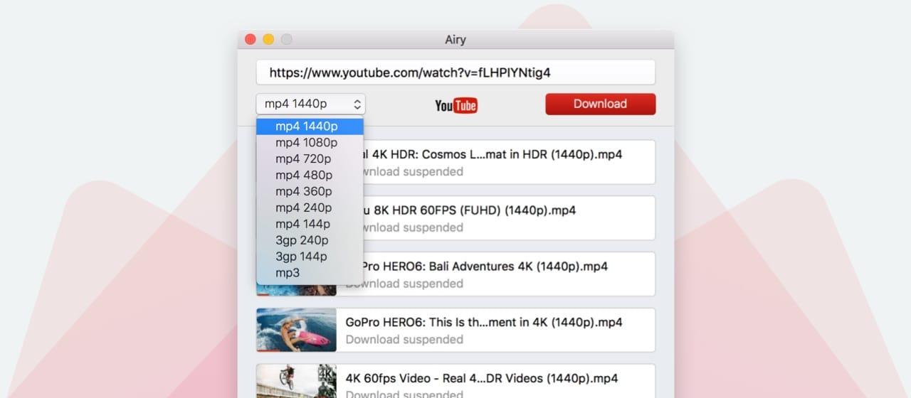 arejado melhor youtube downloader