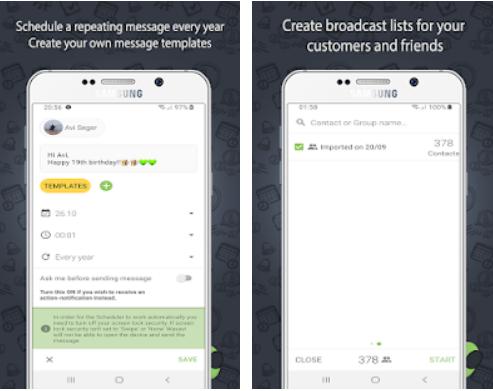 Agende o envio de mensagens no WhatsApp com este aplicativo 3