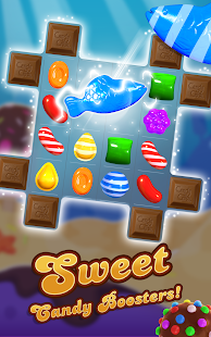 Captura de tela da Candy Crush Saga