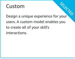 modelo personalizado
