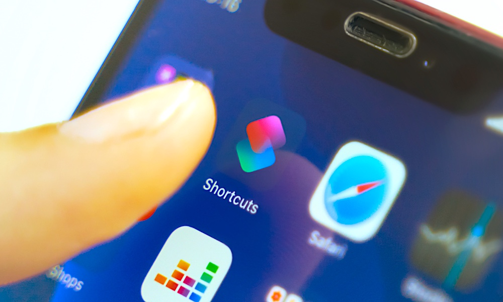 iPhone Shortcuts on iOS