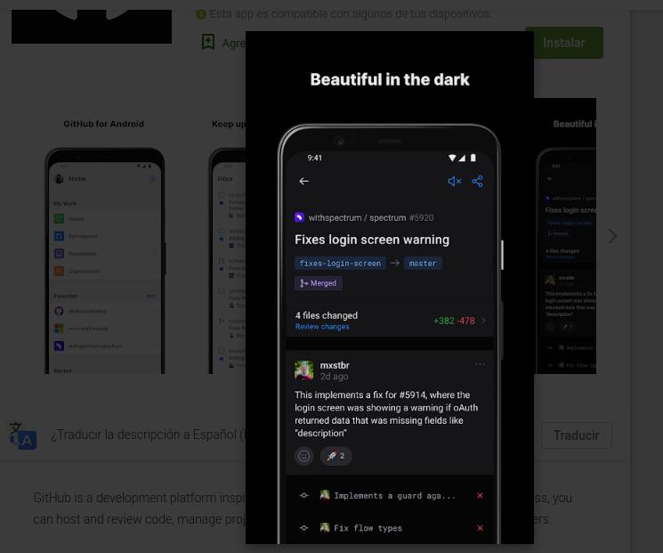 A versão beta do aplicativo GitHub para Android já está disponível 1