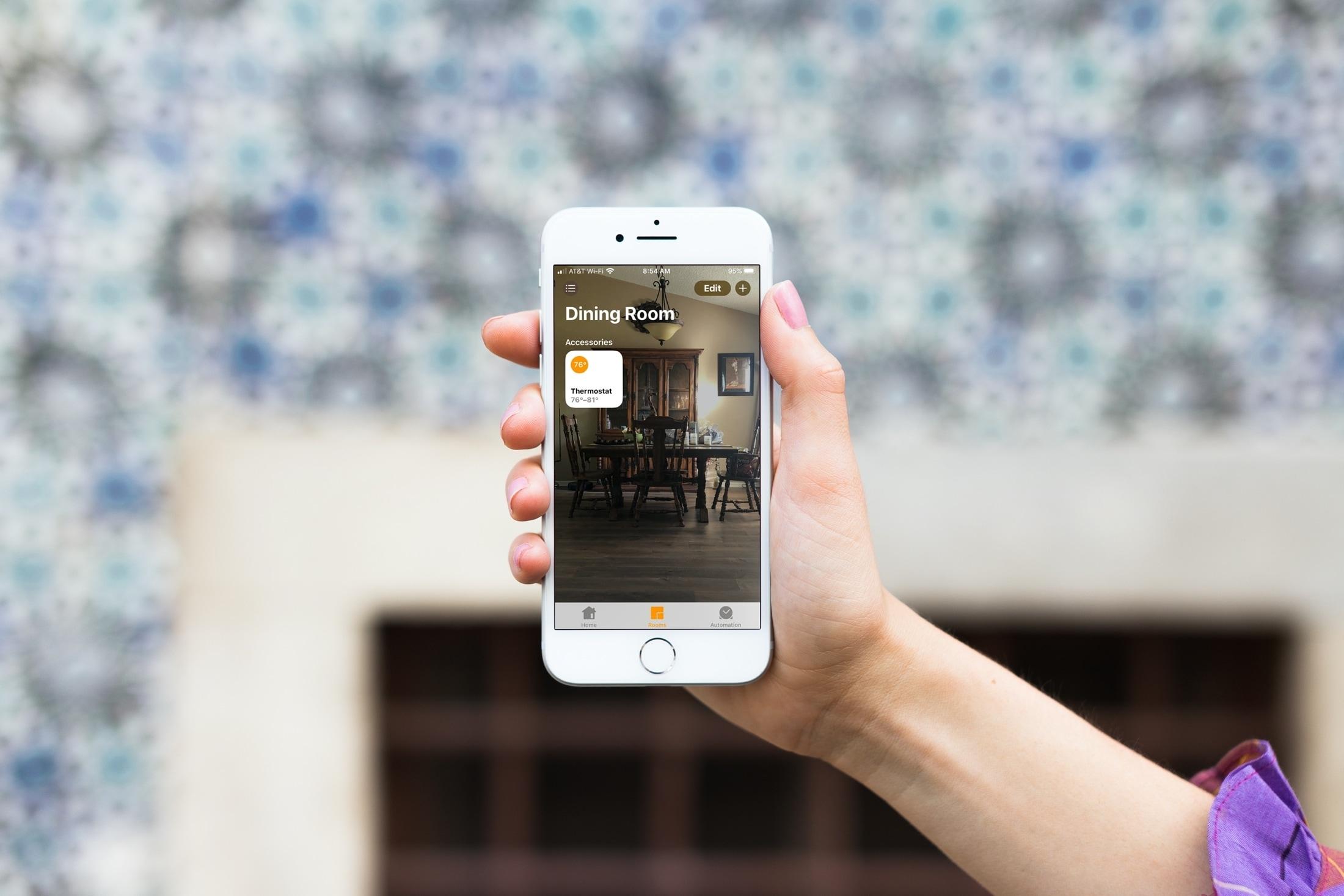 Alterar papel de parede do aplicativo Home