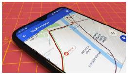 Como prever o tráfego no Google Maps para Android 1