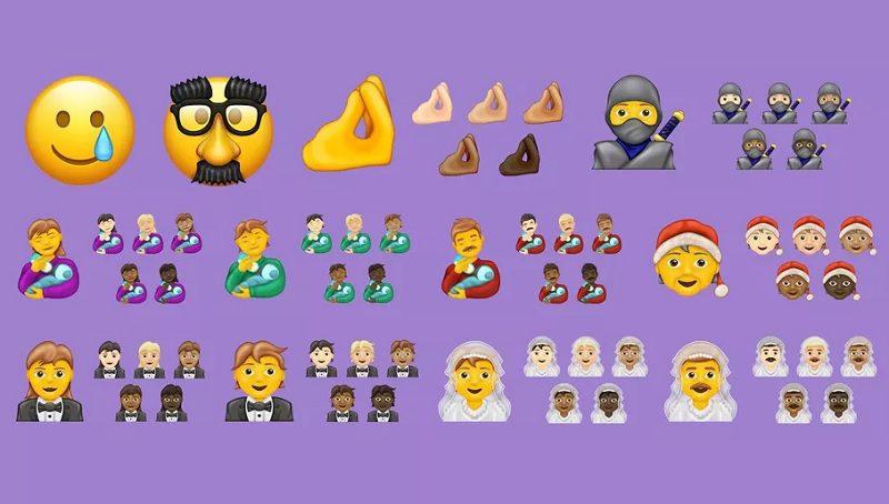 Conheça os 117 novos emojis que vão chegar ainda este ano