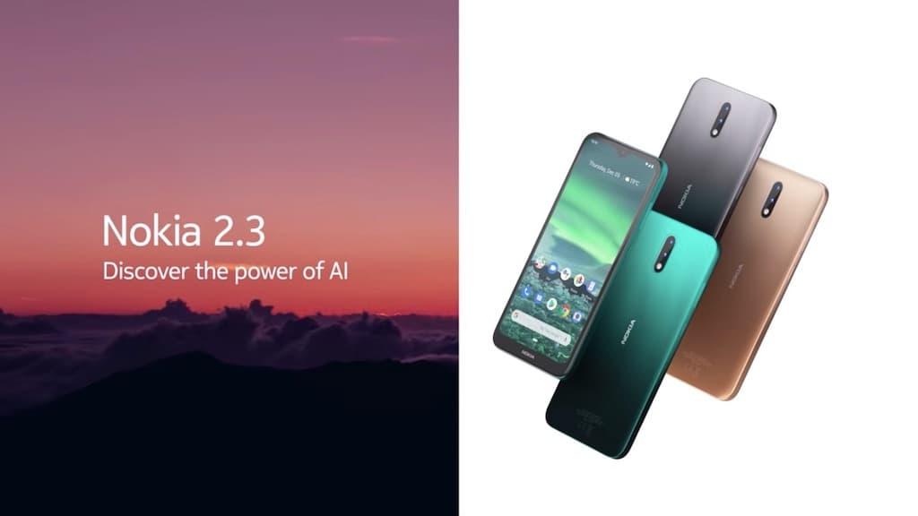 Nokia 2.3 chega a Portugal a preço baixo e quer levar a Inteligência Artificial a todos!