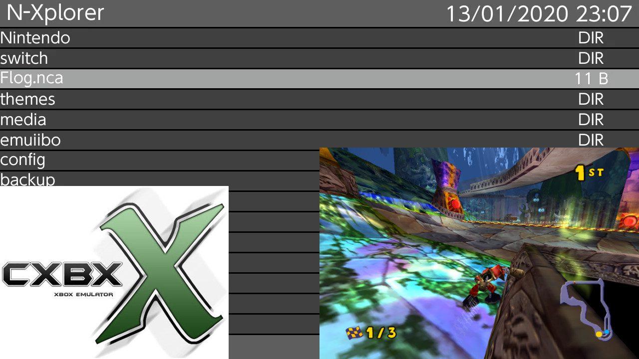 Notícias: N-Xplorer, um gerenciador de arquivos inspirado no VitaShell, lançado para o Switch e uma olhada no relatório de progresso de dezembro de 2019 do Cxbx-Reloaded (emulador original de XBOX) agora com 59 jogos jogáveis